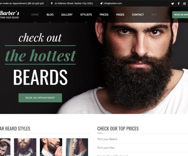 Izdelava spletnih strani za frizerske salone